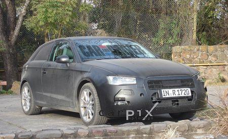 2013 Audi A3 Spy Photos