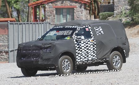 2013 Chevrolet Colorado SUV Spy Photos