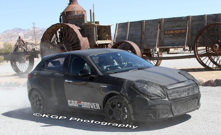 2013 Dodge Small Car Spy Photos