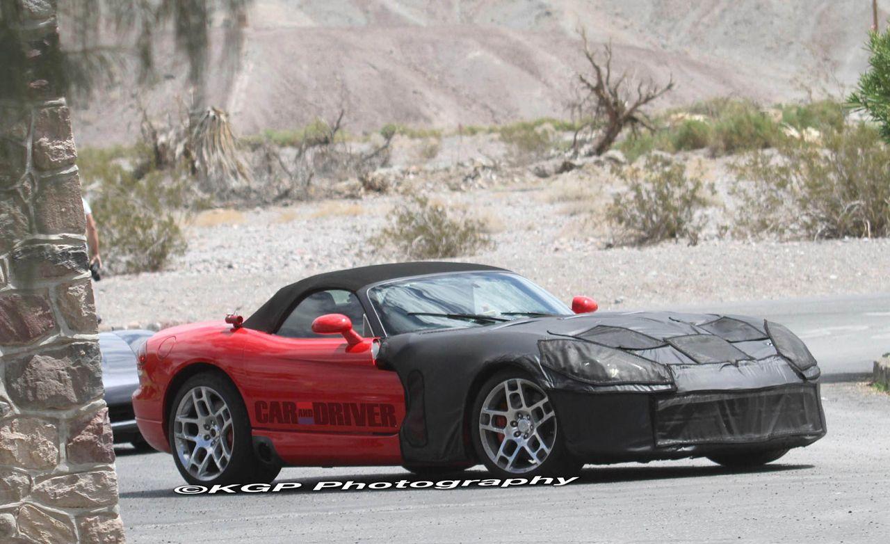 2013 Dodge Viper Spy Photos