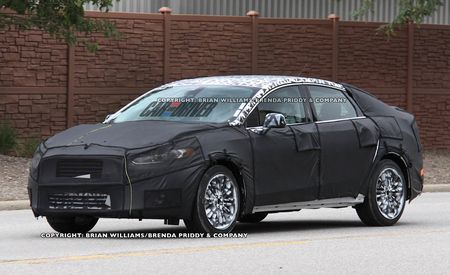 2013 Ford Fusion: More Spy Photos