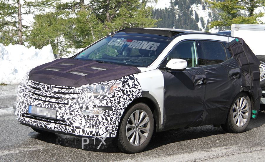 2013 Hyundai Santa Fe Spy Photos