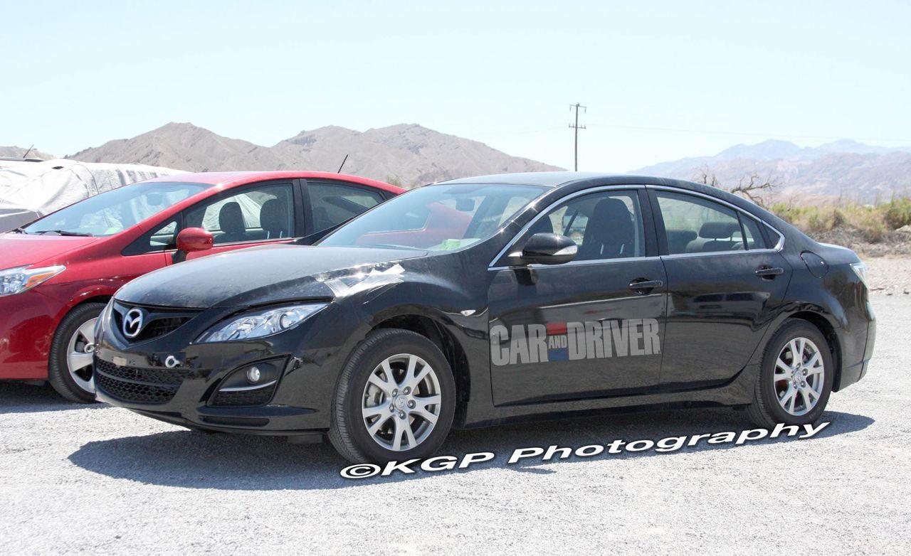 2013 Mazda 6 Hybrid Spy Photos