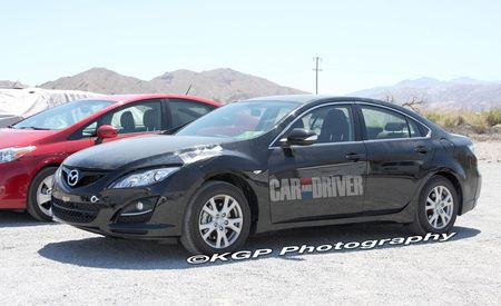 2013 Mazda 6 Hybrid Spy Photos