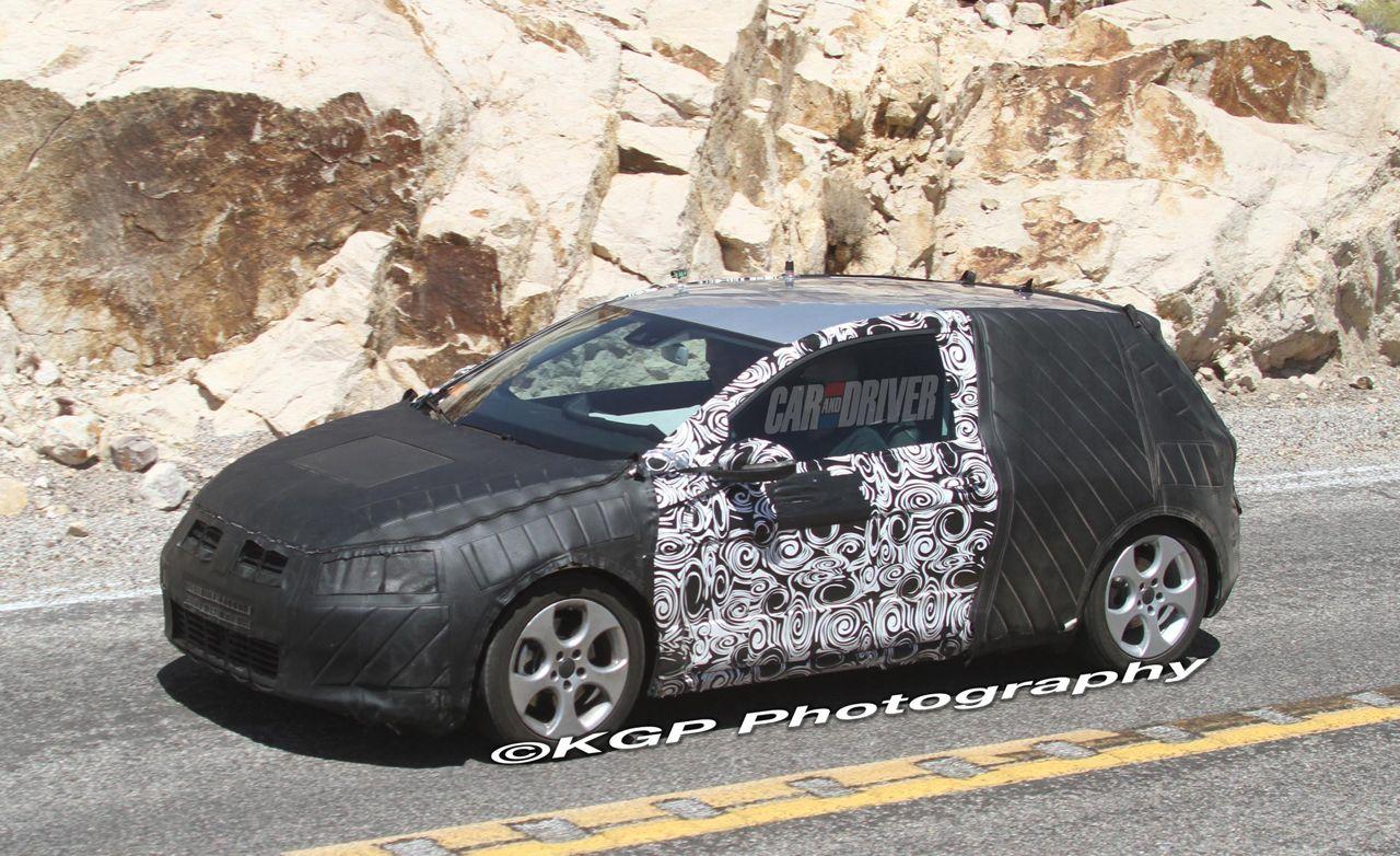 2013 Volkswagen Golf MkVII Spy Photos