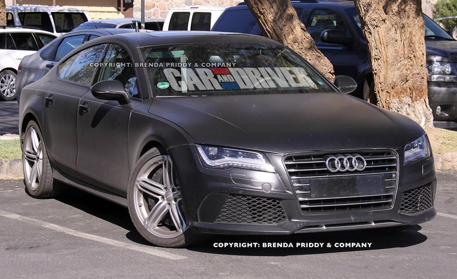 2014 Audi RS7 Spy Photos