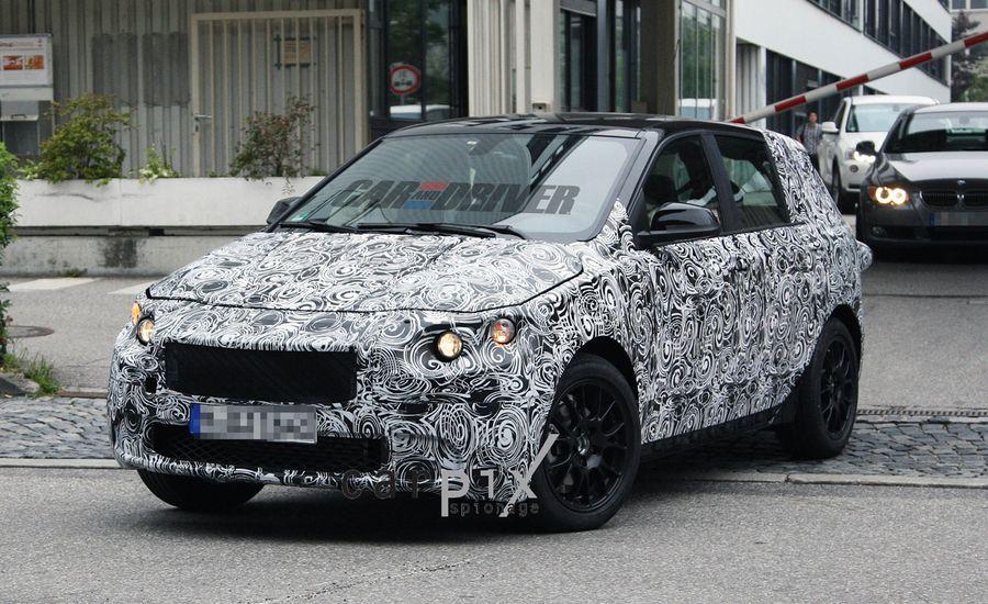 2014 BMW 1-series Gran Turismo Spy Photos