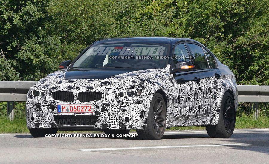 2014 BMW M3 Spy Photos