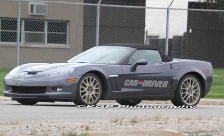 2014 Chevrolet Corvette C7 Mule Spy Photos
