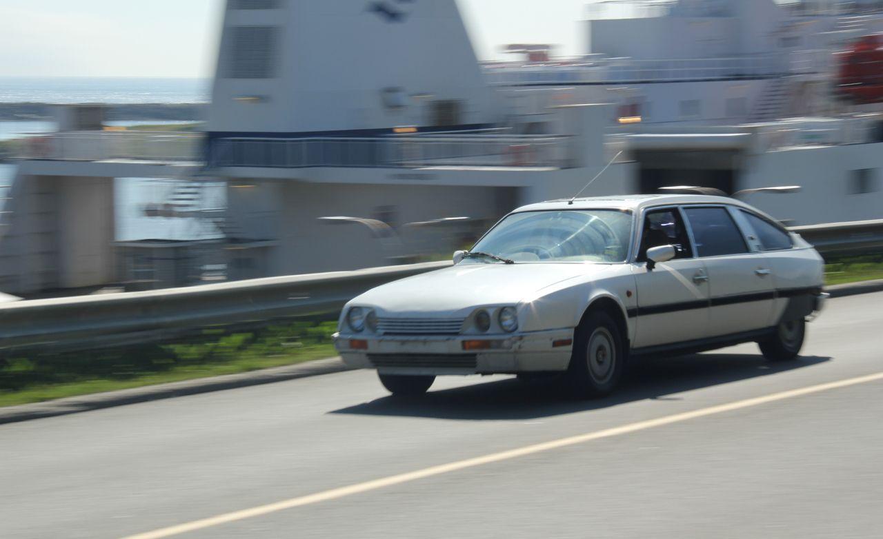 Retour à L'Envoyeur: Driving a Citroën CX from New York to France