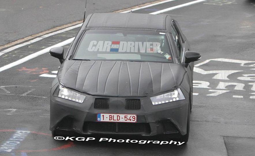 2012 Lexus GS (spy photo) - Slide 1
