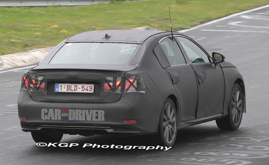 2012 Lexus GS (spy photo) - Slide 4