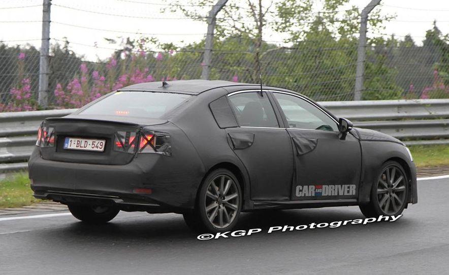2012 Lexus GS (spy photo) - Slide 6