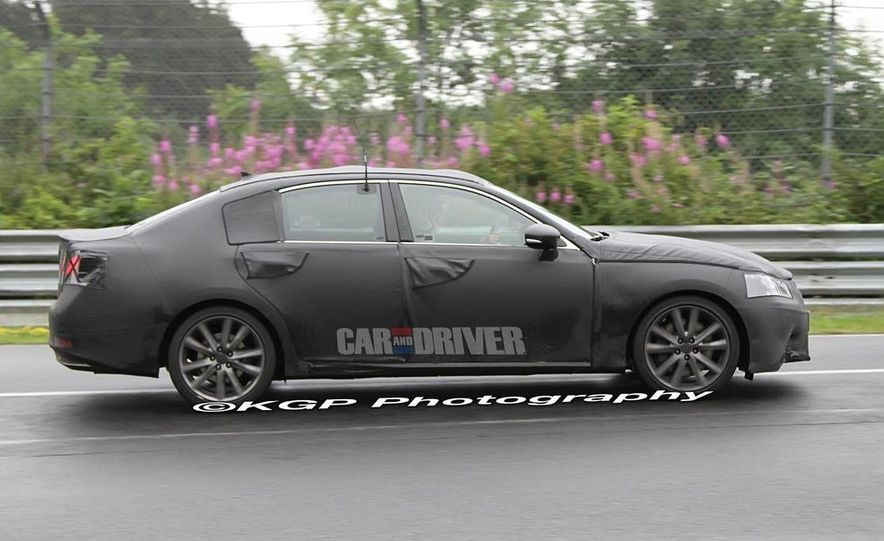 2012 Lexus GS (spy photo) - Slide 7
