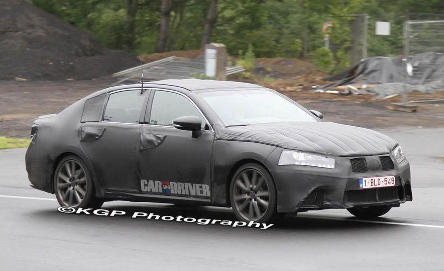 2012 Lexus GS (spy photo) - Slide 8