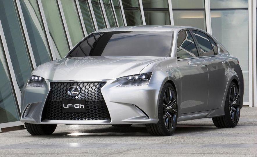 2012 Lexus GS (spy photo) - Slide 12