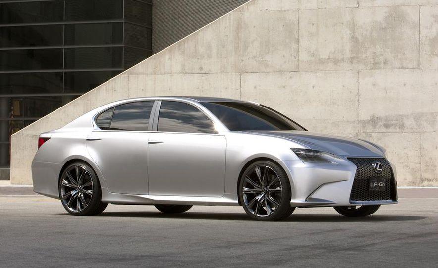 2012 Lexus GS (spy photo) - Slide 14