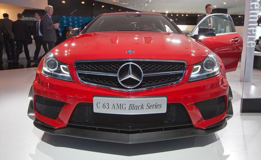 2012 Mercedes-Benz C63 AMG Coupe Black Series - Slide 3
