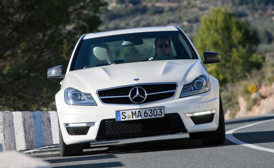 2012 Mercedes-Benz C63 AMG Coupe Black Series - Slide 58