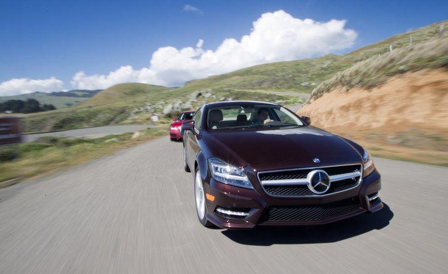 2012 Mercedes-Benz CLS550 and 2012 Audi A7 3.0T Quattro - Slide 4