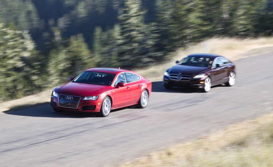 2012 Mercedes-Benz CLS550 and 2012 Audi A7 3.0T Quattro - Slide 5
