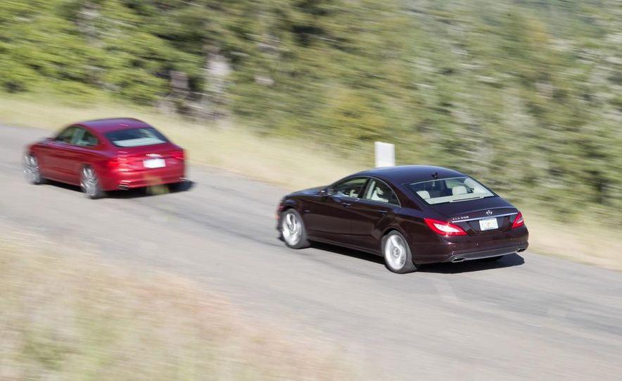 2012 Mercedes-Benz CLS550 and 2012 Audi A7 3.0T Quattro - Slide 6