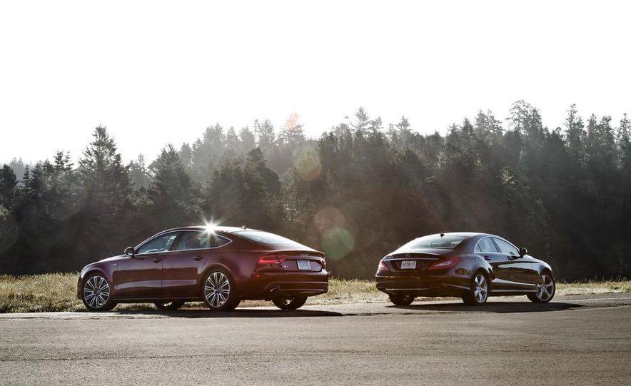 2012 Mercedes-Benz CLS550 and 2012 Audi A7 3.0T Quattro - Slide 9