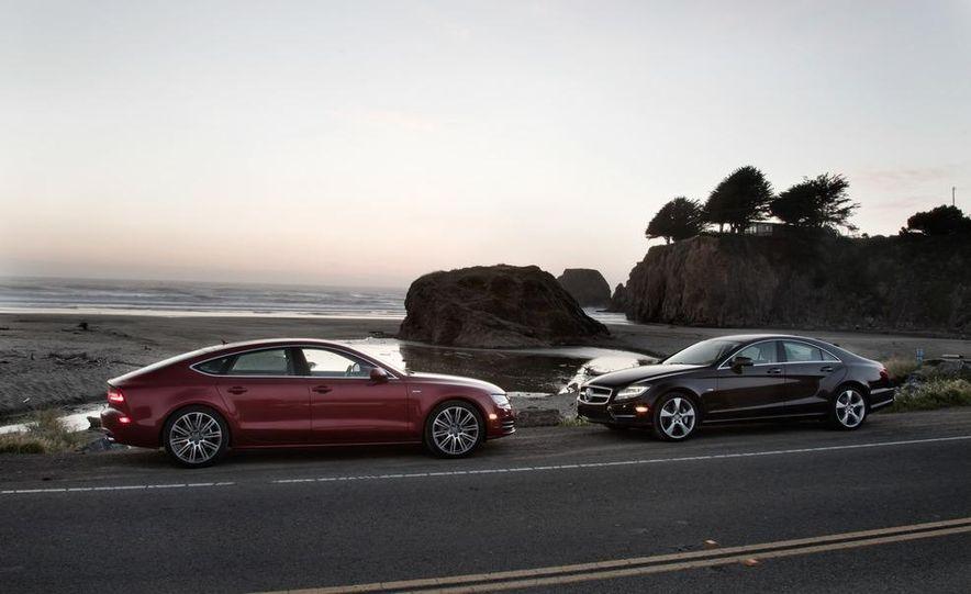 2012 Mercedes-Benz CLS550 and 2012 Audi A7 3.0T Quattro - Slide 16