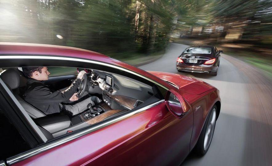 2012 Mercedes-Benz CLS550 and 2012 Audi A7 3.0T Quattro - Slide 17