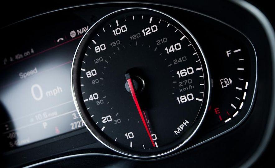 2012 Mercedes-Benz CLS550 and 2012 Audi A7 3.0T Quattro - Slide 82