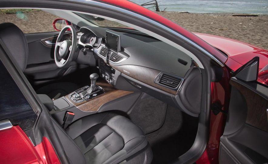 2012 Mercedes-Benz CLS550 and 2012 Audi A7 3.0T Quattro - Slide 71