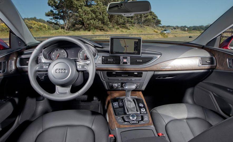 2012 Mercedes-Benz CLS550 and 2012 Audi A7 3.0T Quattro - Slide 73
