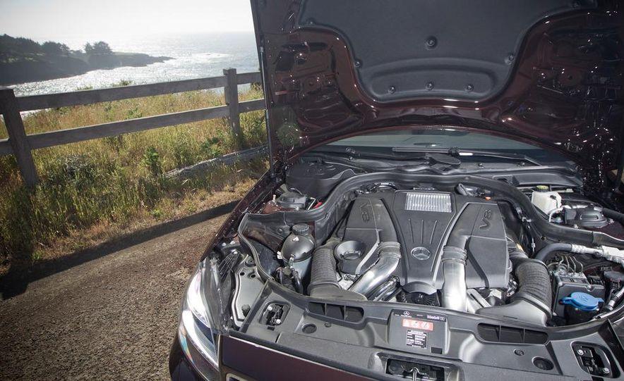 2012 Mercedes-Benz CLS550 and 2012 Audi A7 3.0T Quattro - Slide 51