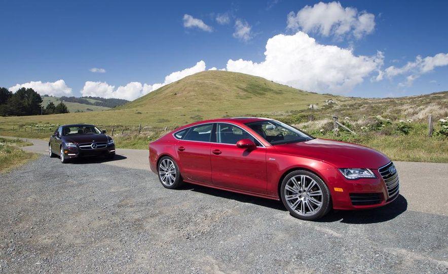 2012 Mercedes-Benz CLS550 and 2012 Audi A7 3.0T Quattro - Slide 3
