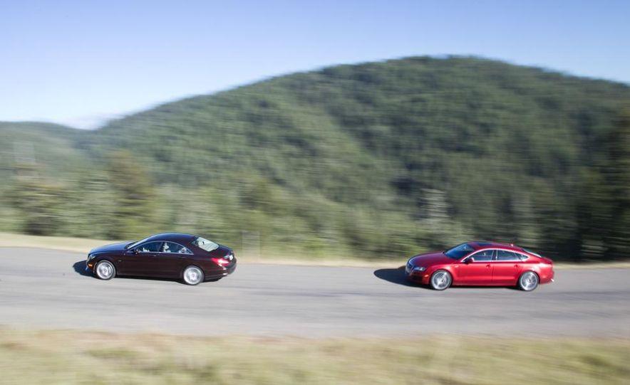 2012 Mercedes-Benz CLS550 and 2012 Audi A7 3.0T Quattro - Slide 7