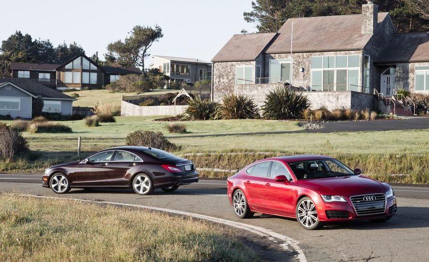 2012 Mercedes-Benz CLS550 and 2012 Audi A7 3.0T Quattro - Slide 8