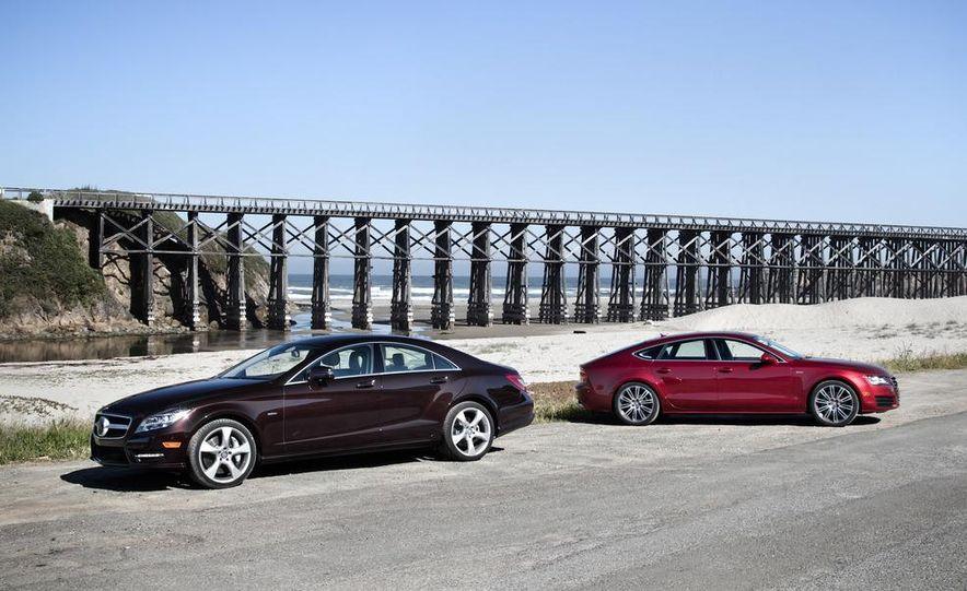 2012 Mercedes-Benz CLS550 and 2012 Audi A7 3.0T Quattro - Slide 11