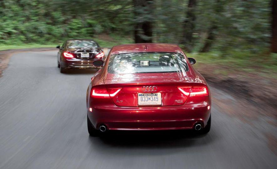 2012 Mercedes-Benz CLS550 and 2012 Audi A7 3.0T Quattro - Slide 12