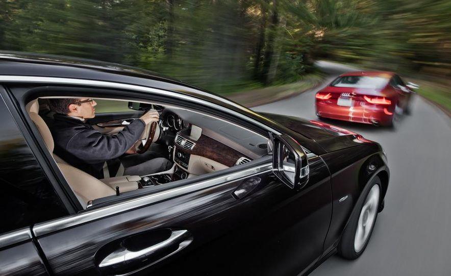 2012 Mercedes-Benz CLS550 and 2012 Audi A7 3.0T Quattro - Slide 18