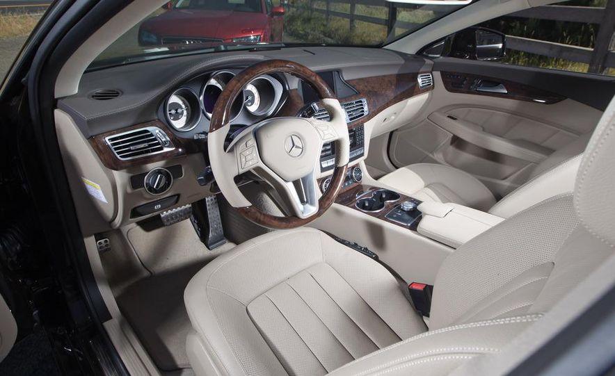 2012 Mercedes-Benz CLS550 and 2012 Audi A7 3.0T Quattro - Slide 38