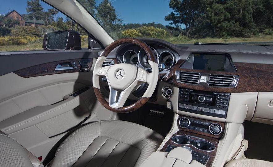 2012 Mercedes-Benz CLS550 and 2012 Audi A7 3.0T Quattro - Slide 40
