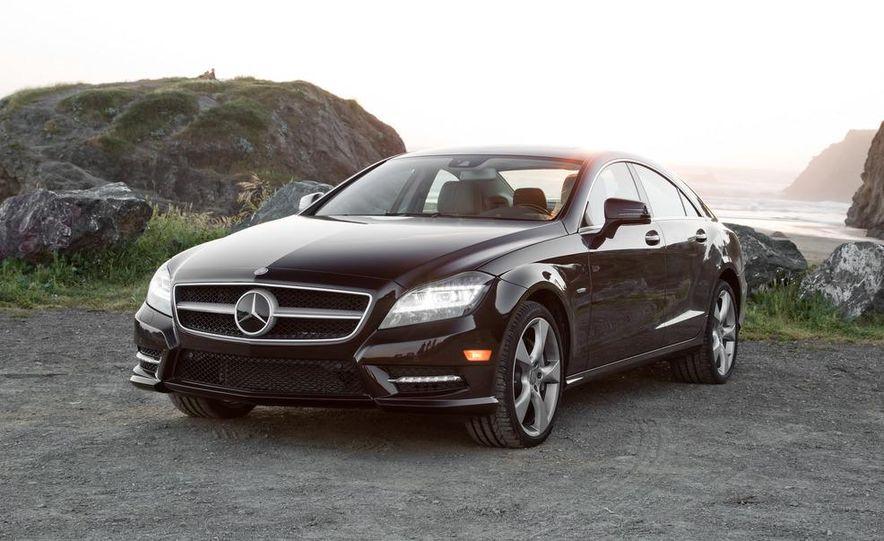 2012 Mercedes-Benz CLS550 and 2012 Audi A7 3.0T Quattro - Slide 23