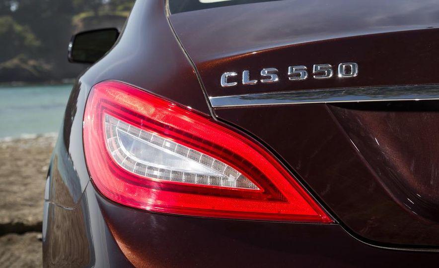 2012 Mercedes-Benz CLS550 and 2012 Audi A7 3.0T Quattro - Slide 30