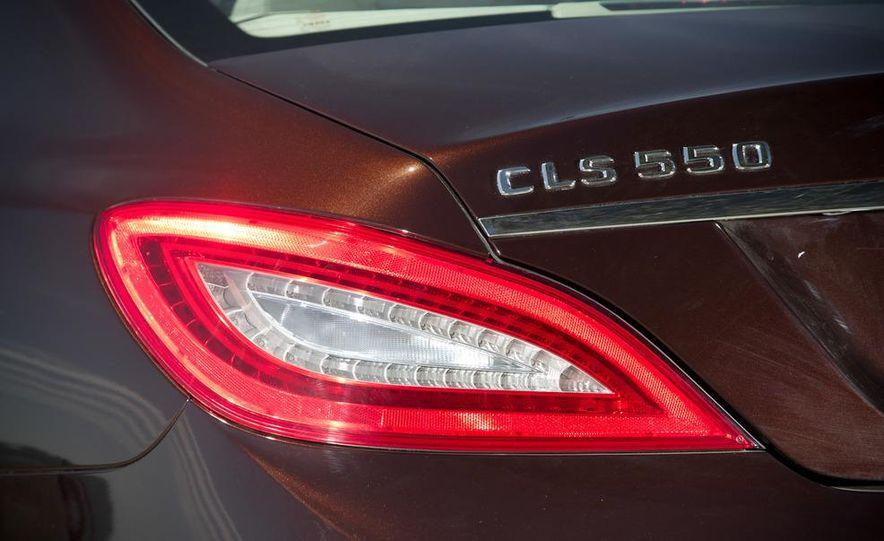 2012 Mercedes-Benz CLS550 and 2012 Audi A7 3.0T Quattro - Slide 36