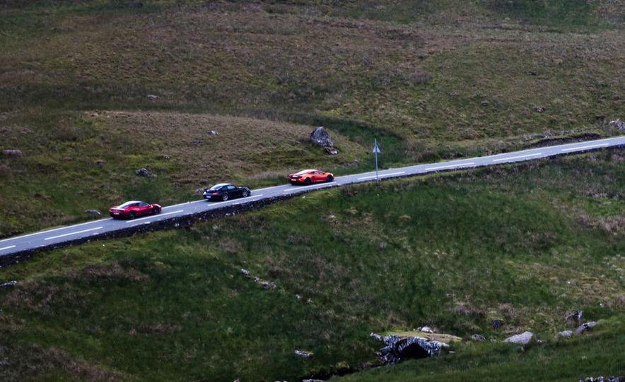 2011 Ferrari 458 Italia, 2012 McLaren MP4-12C, and 2011 Porsche 911 GT2 RS - Slide 13
