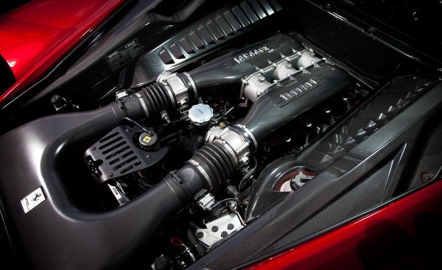 2011 Ferrari 458 Italia, 2012 McLaren MP4-12C, and 2011 Porsche 911 GT2 RS - Slide 43