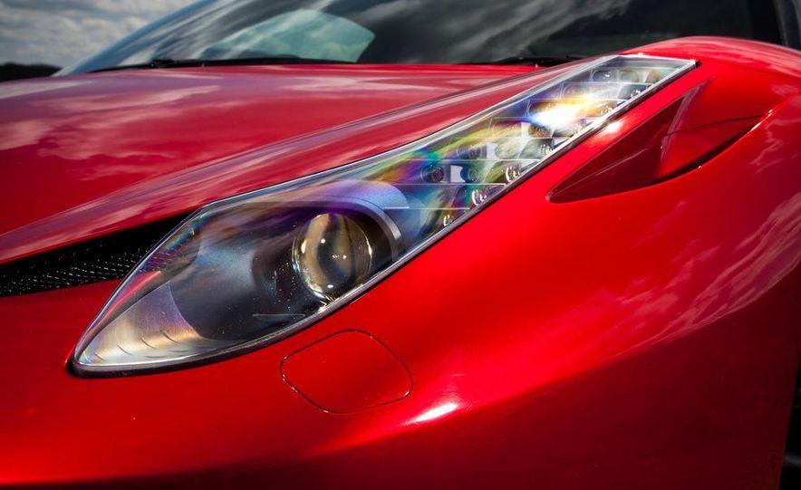 2011 Ferrari 458 Italia, 2012 McLaren MP4-12C, and 2011 Porsche 911 GT2 RS - Slide 34