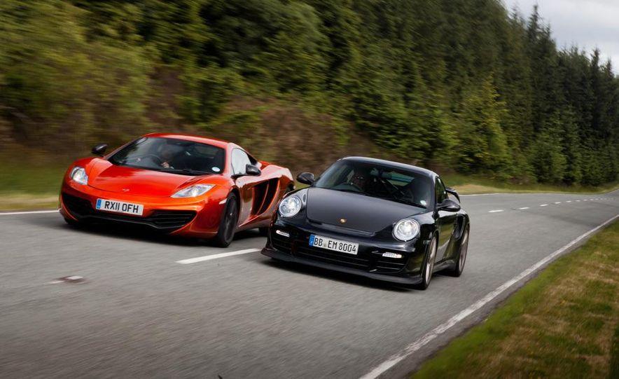 2011 Ferrari 458 Italia, 2012 McLaren MP4-12C, and 2011 Porsche 911 GT2 RS - Slide 14