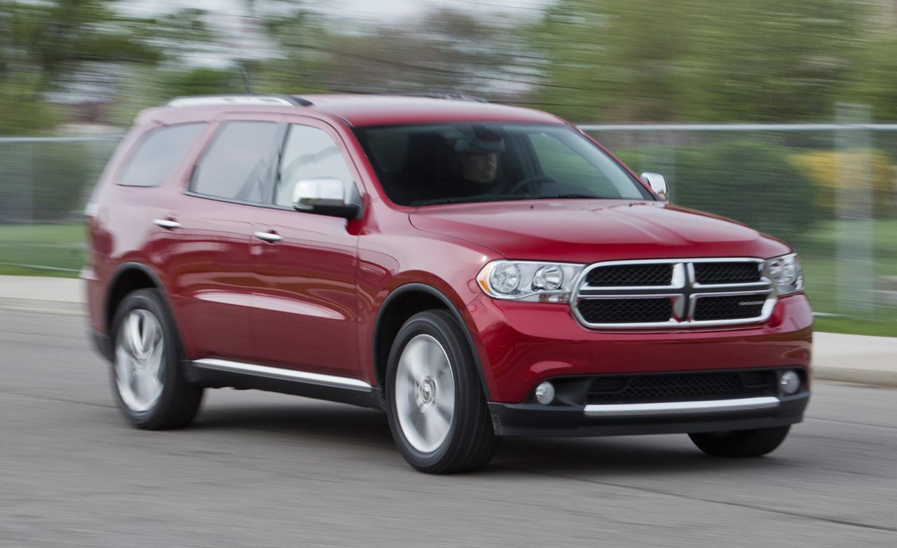2016 Dodge Durango R T Awd Test Review Car And Driver 2011 Fuel Filter