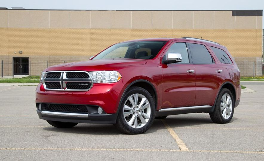2011 Honda Pilot Touring 4WD, 2011 Dodge Durango Crew AWD, and 2011 Ford Explorer XLT 4WD - Slide 63